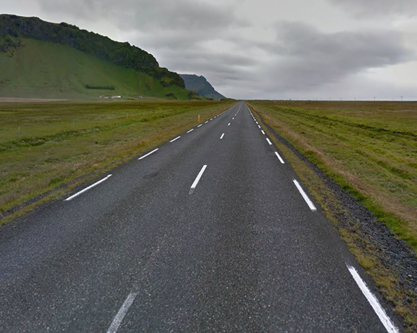 Route 1 is the main 'getting form A to B' road. It is easy to see why there is no Icelandic translation for 'rush hour'.