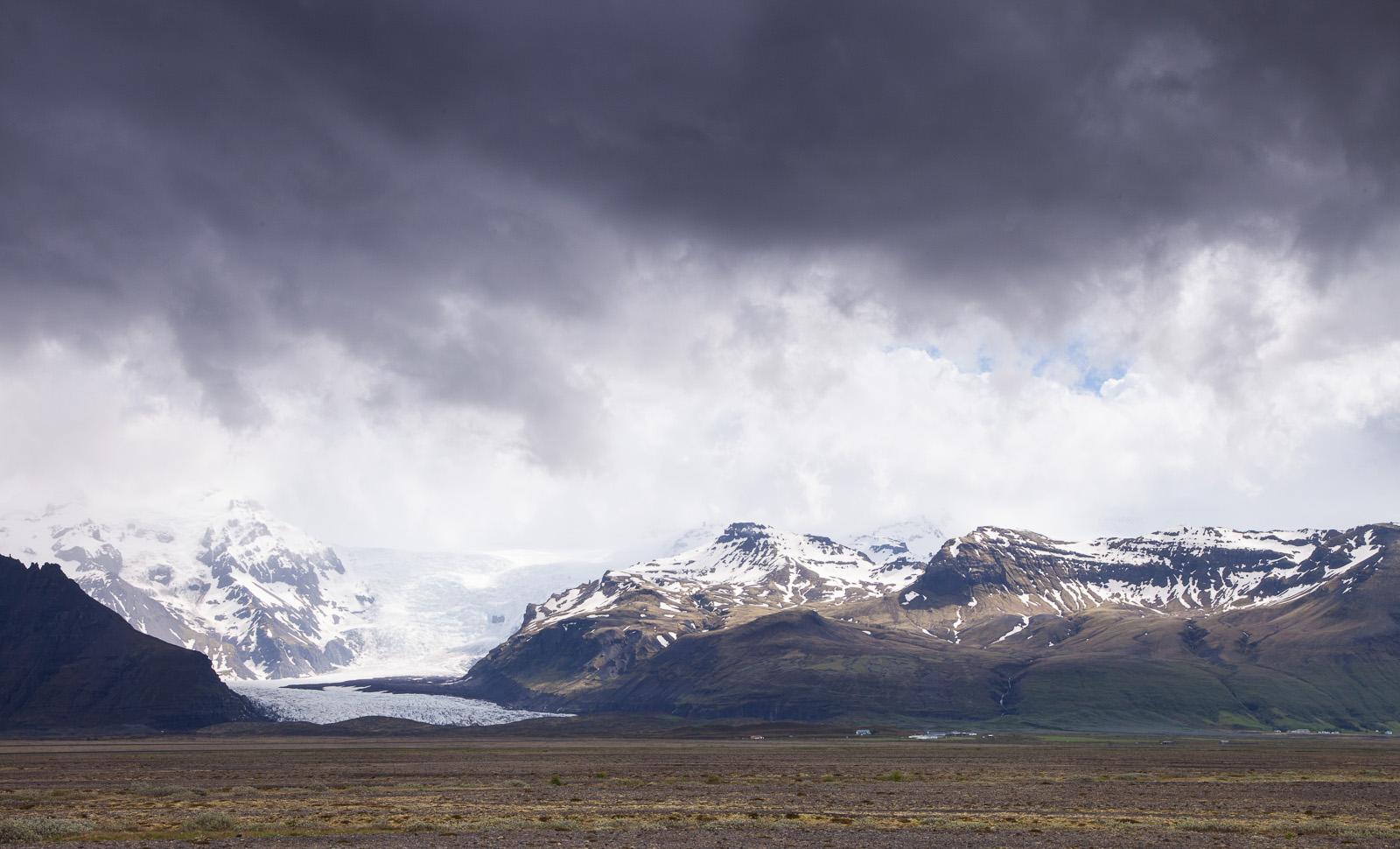 Skaftafellsjokull Glacial Tongue