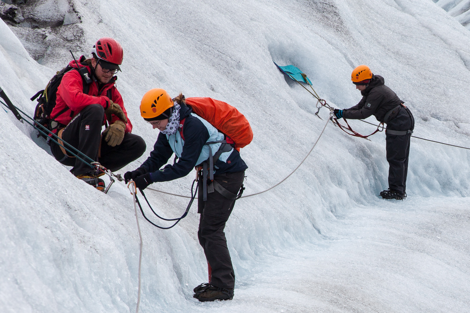 Going with the experts has a number of benefits. Not falling into a crevasse being one.