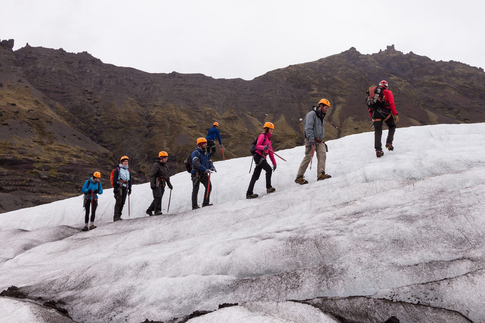 If you've never tried hiking on a glacier, you should add it to your list - it is great fun!