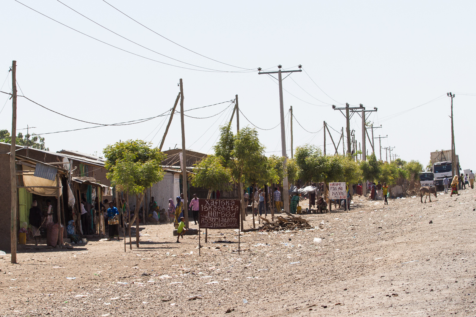 Today you'll get to stop in one of the road-side towns that have grown around the busy transport link between Addis and Djibouti [Click to enlarge!]