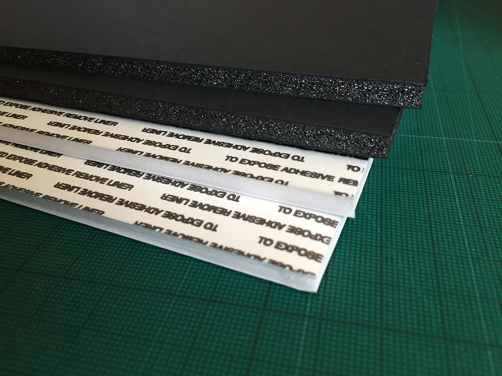 If you hate having too many options then choosing foam board is wonderful: Black or white.