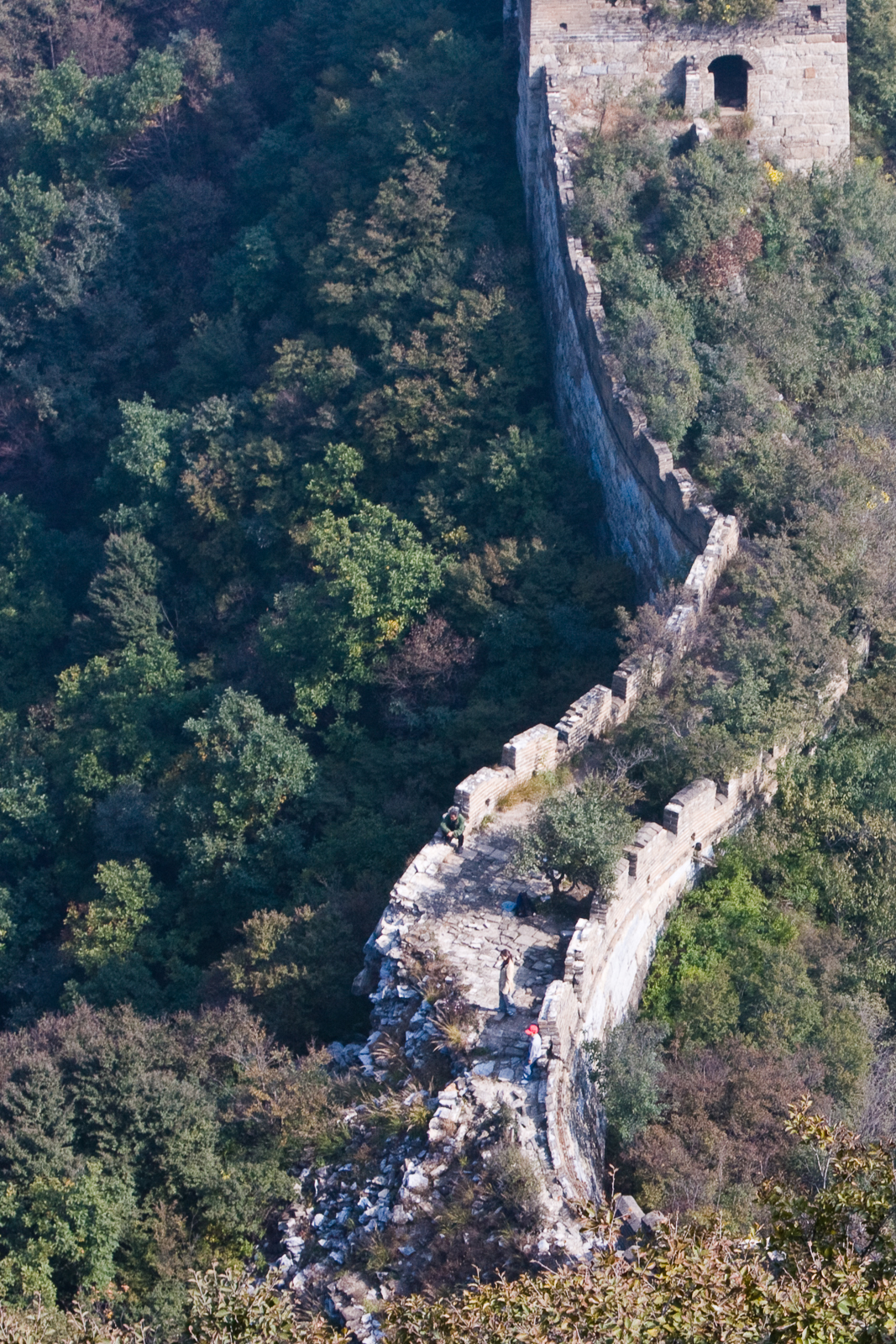 """There's a reason that the """"Wild Wall of China"""" is closed to hikers."""