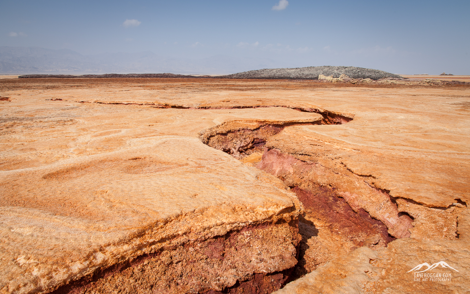 It may be approximately 100 million years until the horn of Africa becomes its own continent, but signs of movement are visible in this highly geologically active area.