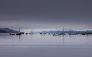 Ushuaia Harbour, Argentina.