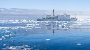 Akademik Ioffe, Curtiss Bay, Antarctica.