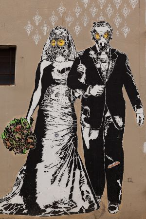 'Apocalipsis Love' by Stencil Land. [Buenos Aires, Argentina]