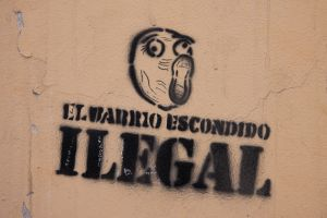 'The Hidden Neighbourhood is Illegal' [Ushuaia, Argentina]