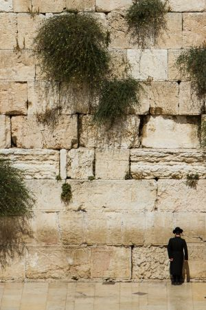 The Western Wall, Jerusalem, Israel.