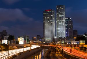 The Azrieli Centre, Tel Aviv, Israel.
