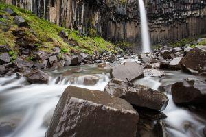 Svartifoss, Iceland.