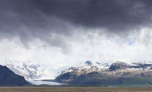 Svinafellsjokull Outlet Glacier, Iceland.