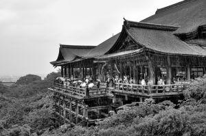 Hondo, Kiyomizu-dera, Kyoto.